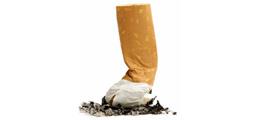 stubbed out cigarette